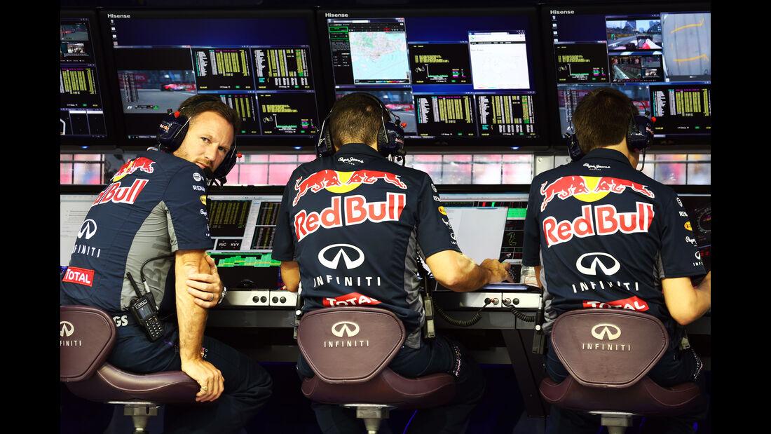 Christian Horner - Red Bull - Formel 1 - GP Singapur - 18. September 2015