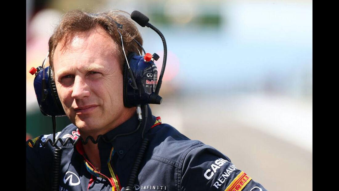 Christian Horner - Red Bull - Formel 1 - GP Ungarn - 25. Juli 2014