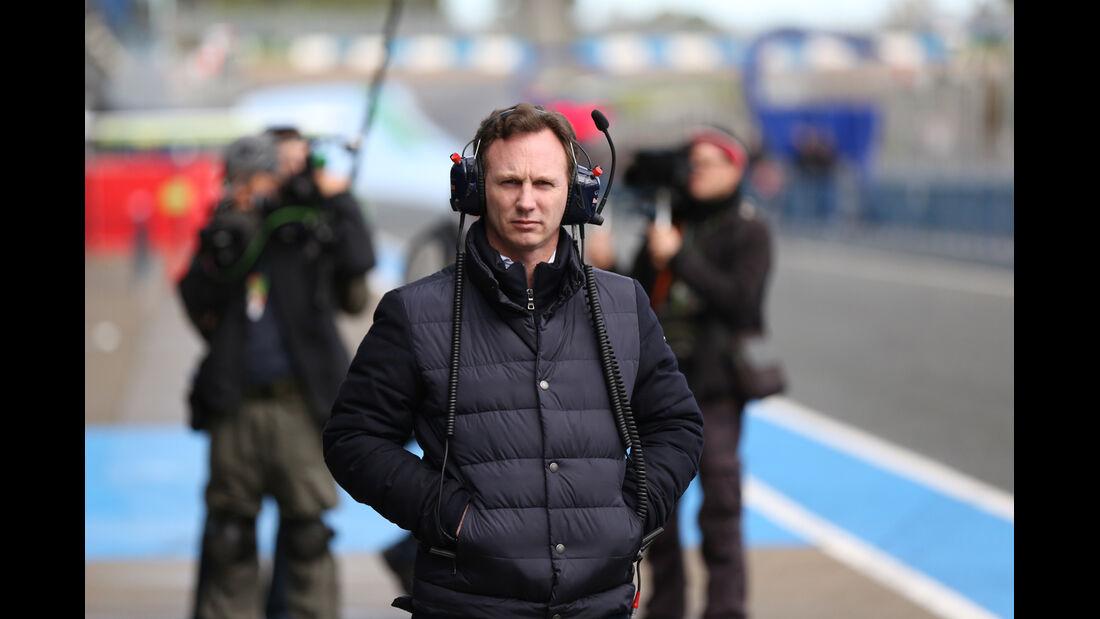 Christian Horner - Red Bull - Formel 1 - Test - Jerez - 29. Januar 2014