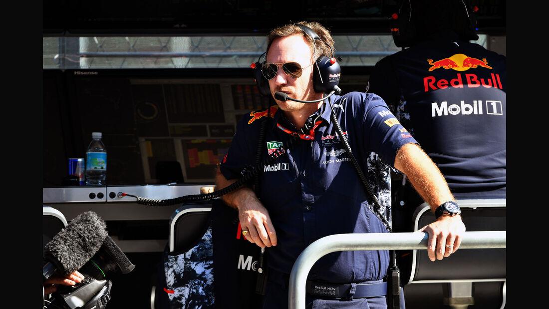 Christian Horner - Red Bull - GP Mexiko - Formel 1 - Freitag - 27.10.2017