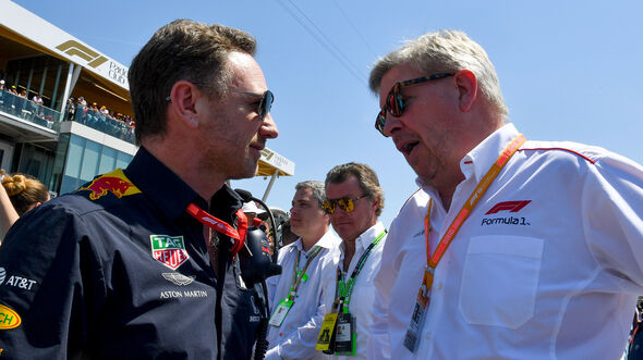 Christian Horner & Ross Brawn - F1 - 2019