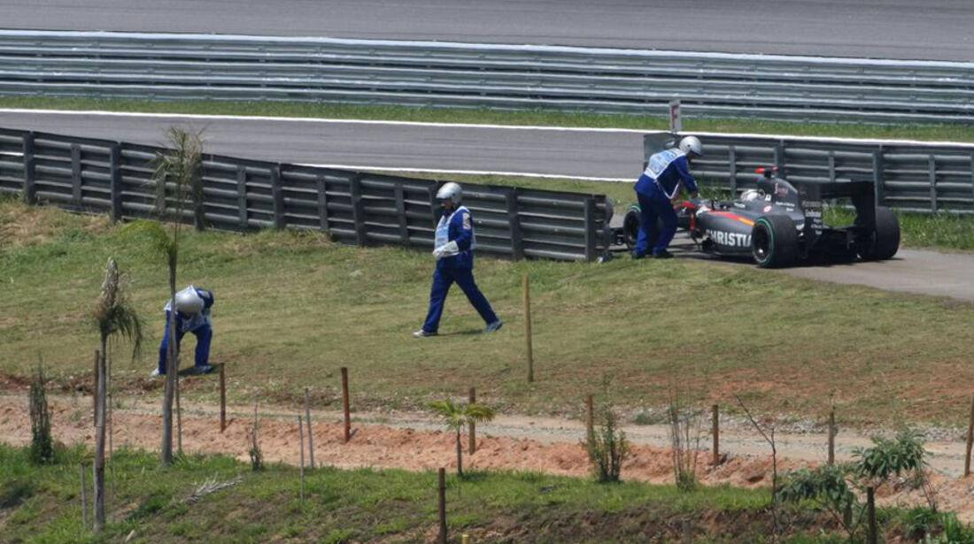 Christian Klien GP Brasilien 2010