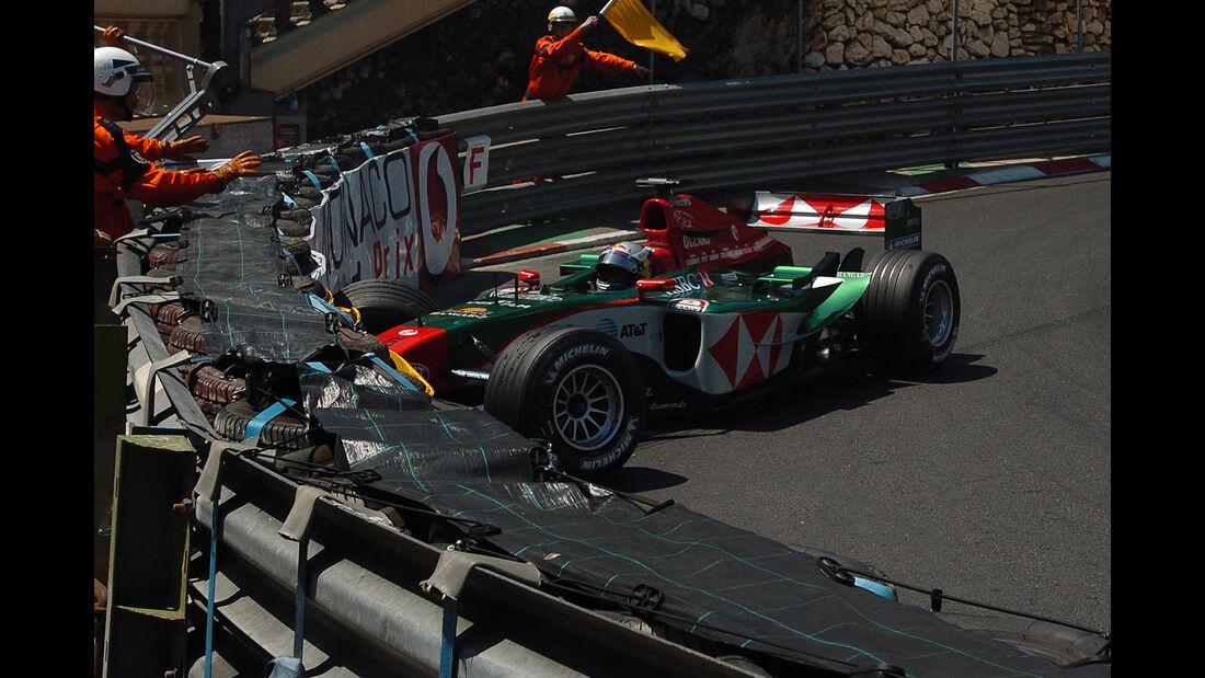 Christian Klien - Jaguar - GP Monaco 2004