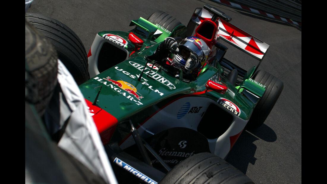 Christian Klien - Jaguar - Monaco - 2004