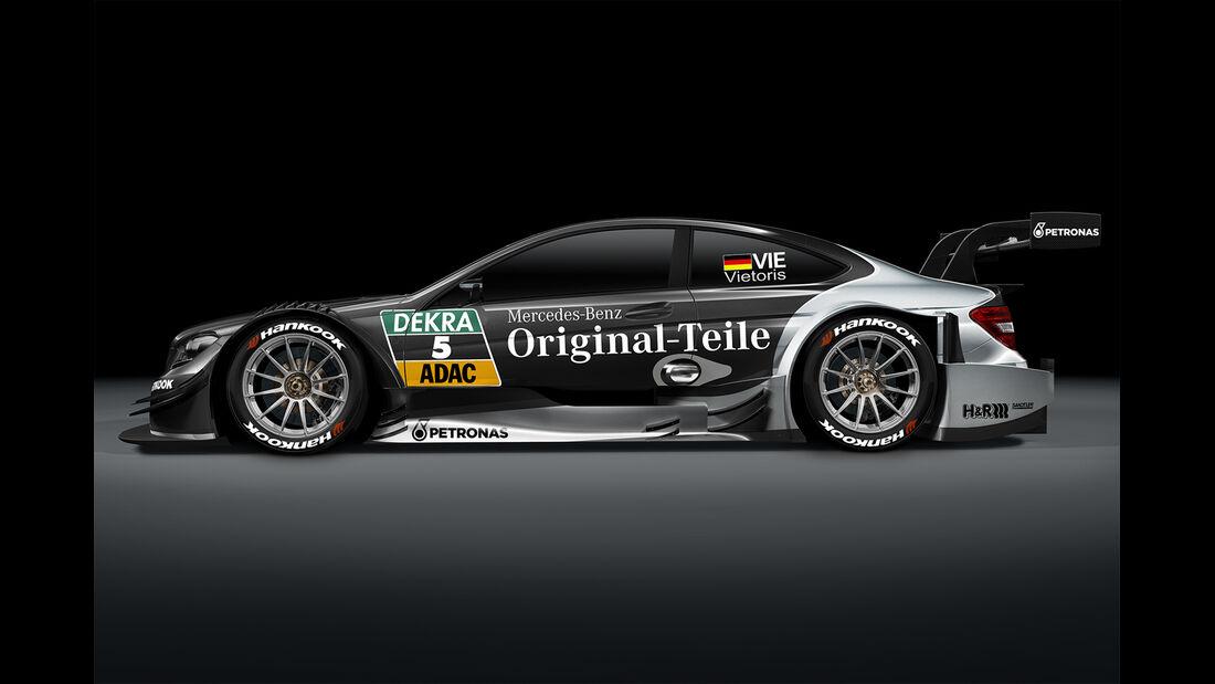 Christian Vietoris - Mercedes AMG DTM C-Coupé - DTM 2014