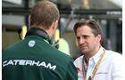 Christijan Albers - Caterham - Formel 1 - GP England - Silverstone - 3. Juli 2014