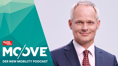 Christoph Grote, Senior Vice President Electronics von BMW Moove Podcast
