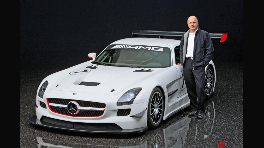 Christoph Jung, Projektleiter Mercedes-Sportprogramm