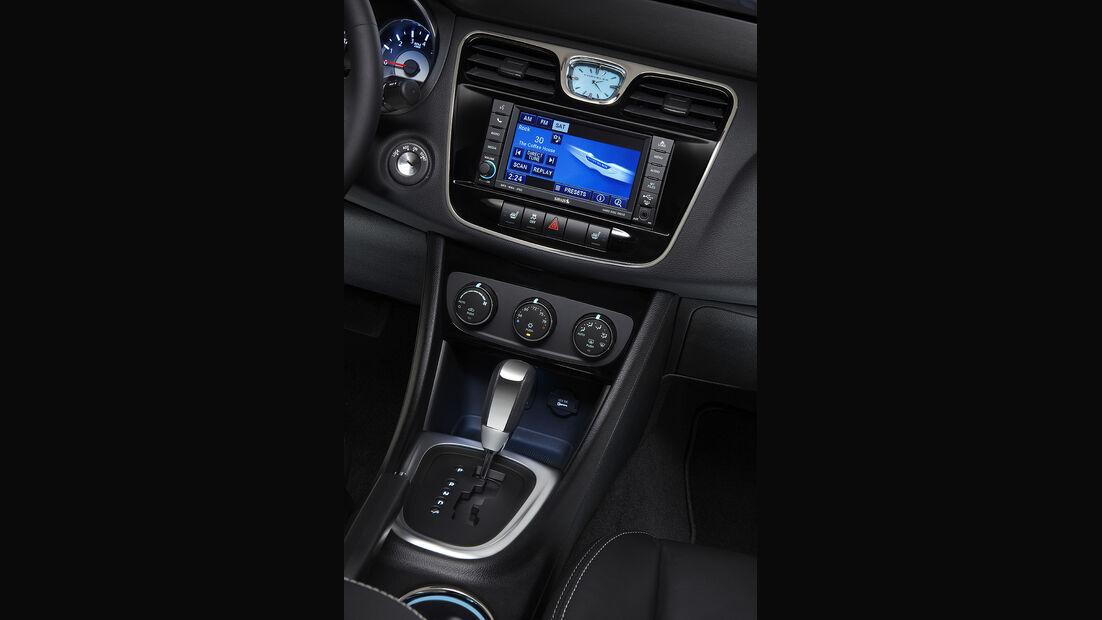Chrysler 200 Cabrio, Armaturenbrett, Innenraum