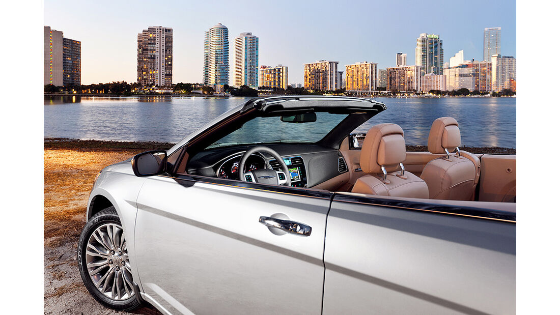 Chrysler 200 Cabrio, Cockpit
