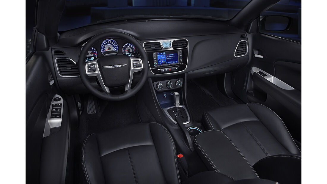 Chrysler 200 Cabrio, Cockpit, Innenraum