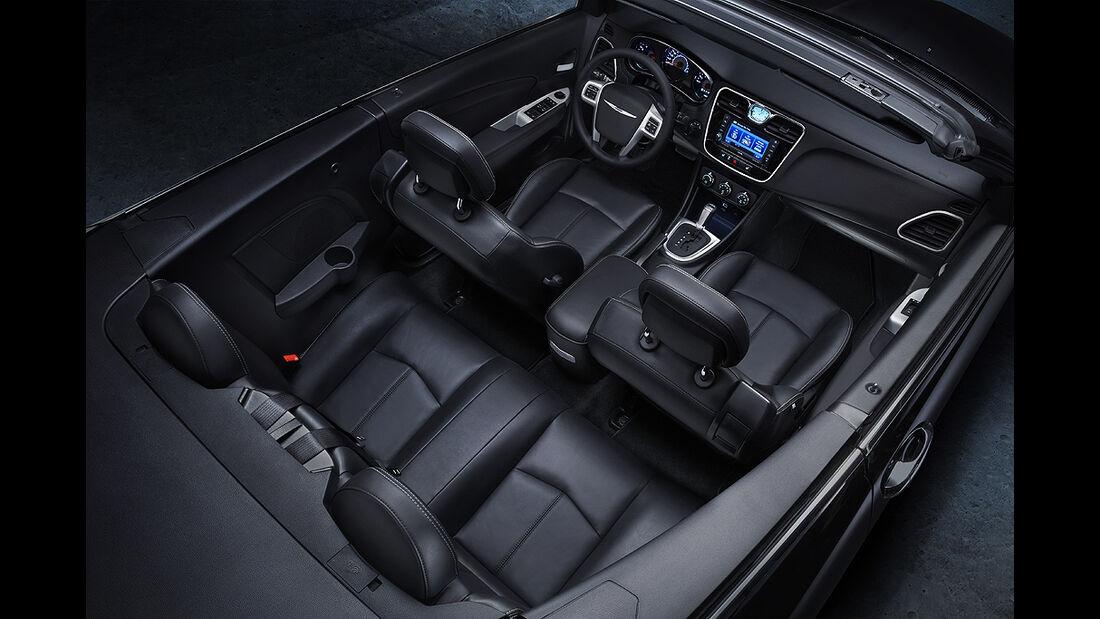 Chrysler 200 Cabrio, Innenraum