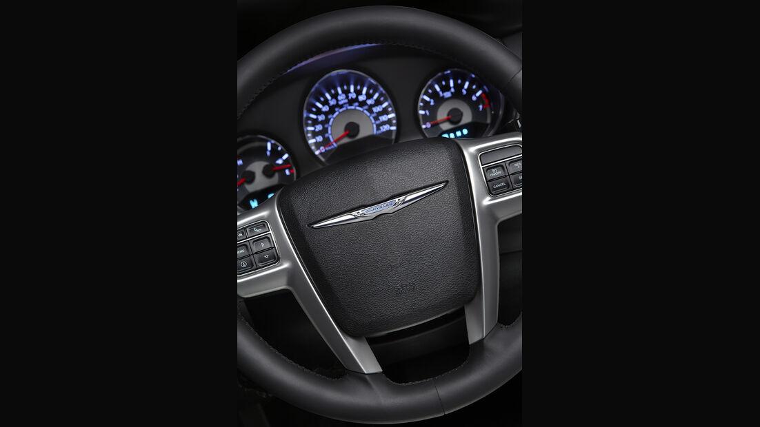 Chrysler 200 Cabrio, Lenkrad, Innenraum