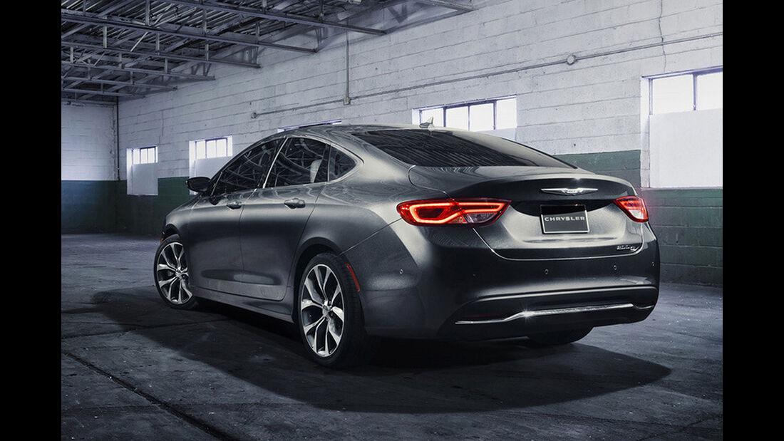 Chrysler 200 Detroit Motor Show 2014