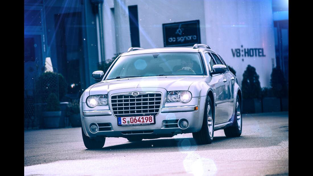 Chrysler 300 C Touring 5.7 Hemi, Frontansicht