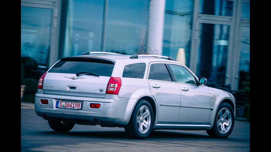 Chrysler 300 C Touring 5.7 Hemi, Heckansicht