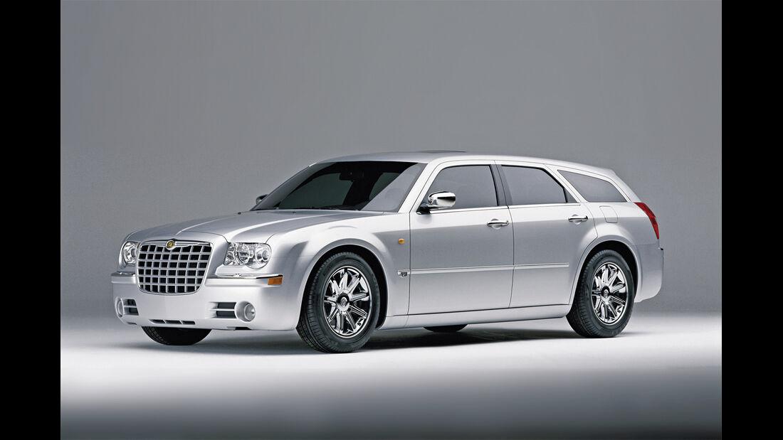 Chrysler 300 C Touring 5.7 Hemi, Seitenansicht