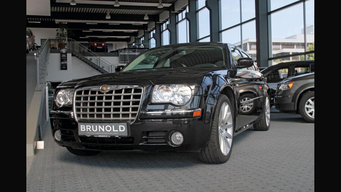 Chrysler 300 C Touring, Frontansicht, Kühlergrill
