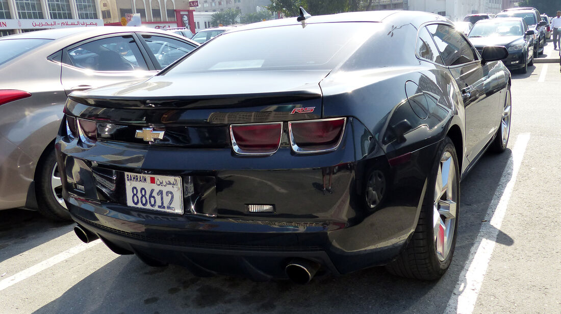 Chrysler Camaro - Carspotting Bahrain 2014