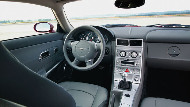 Chrysler Crossfire, Coupe, Cockpit, Lenkrad