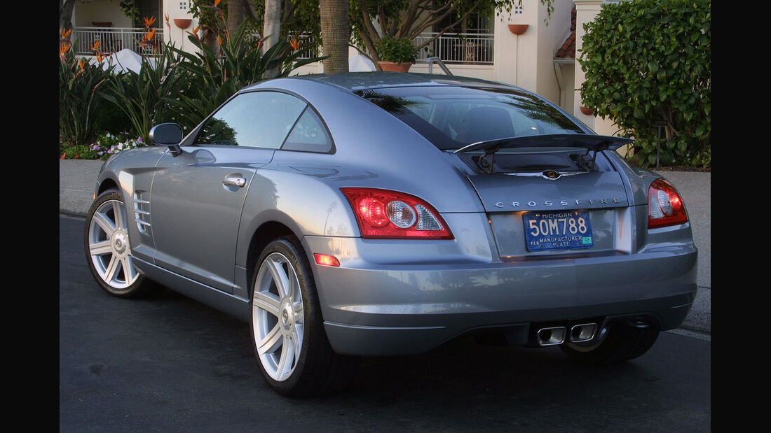 Chrysler Crossfire, Coupe, Heck, Spoiler