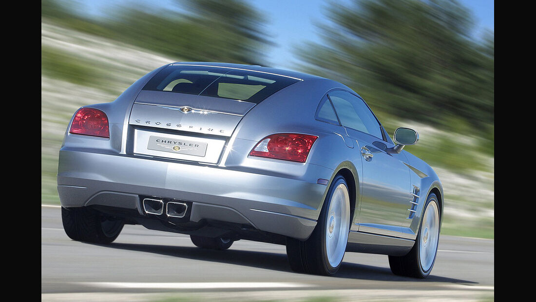 Chrysler Crossfire, Coupe, Heck