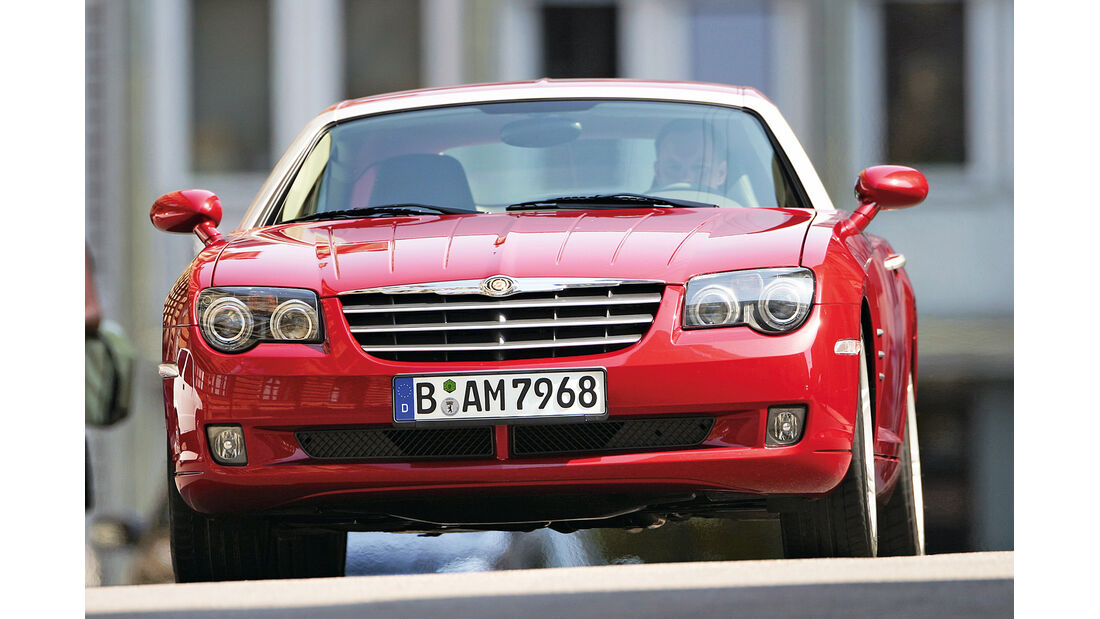 Chrysler Crossfire, Frontansicht