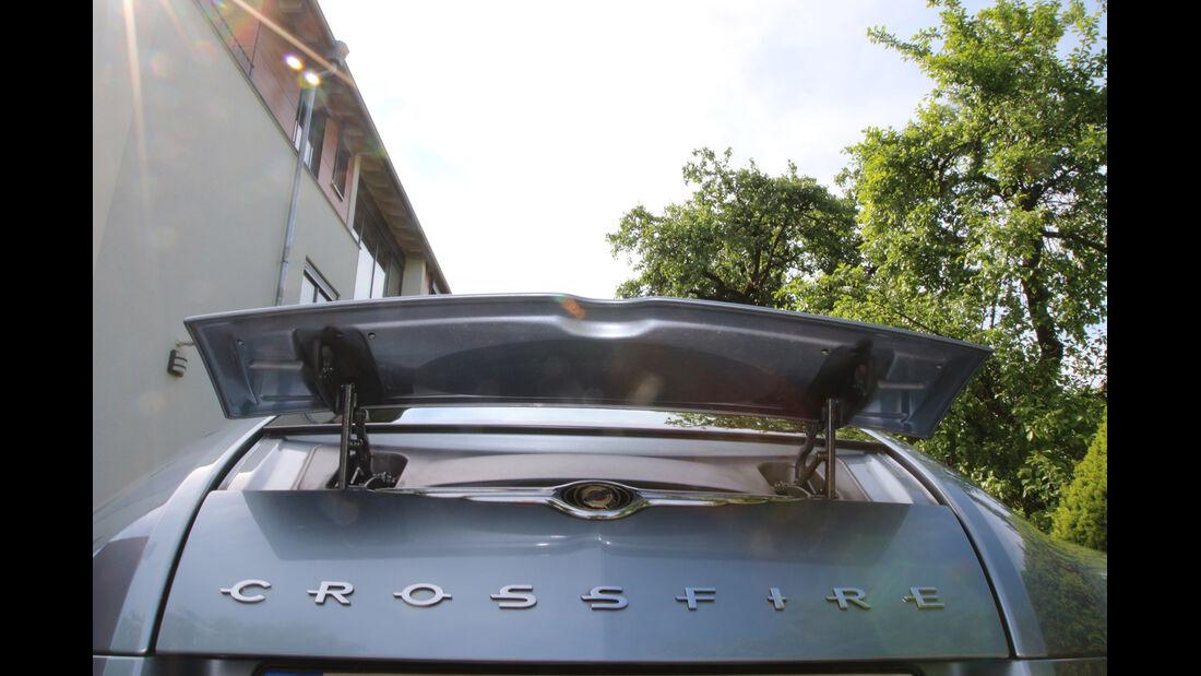 Chrysler Crossfire, Heckklappe