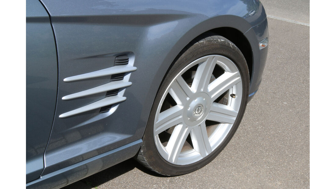 Chrysler Crossfire, Rad, Felge