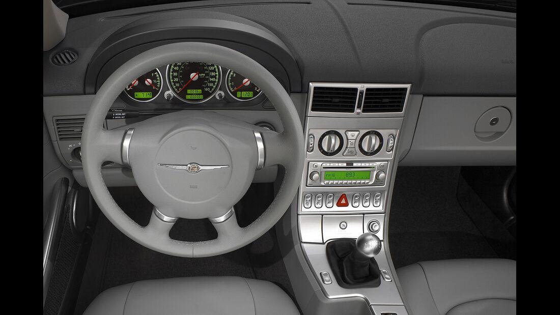 Chrysler Crossfire, Roadster, Lenkrad, Cockpit