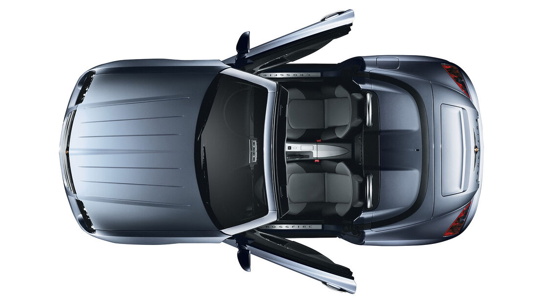 Chrysler Crossfire, Roadster, Oben