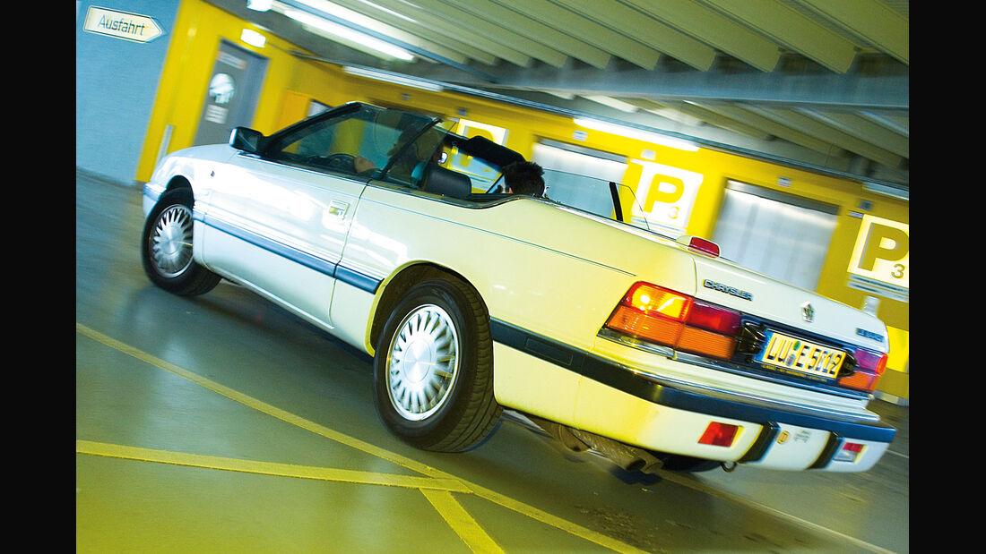 Chrysler LeBaron, Heckansicht
