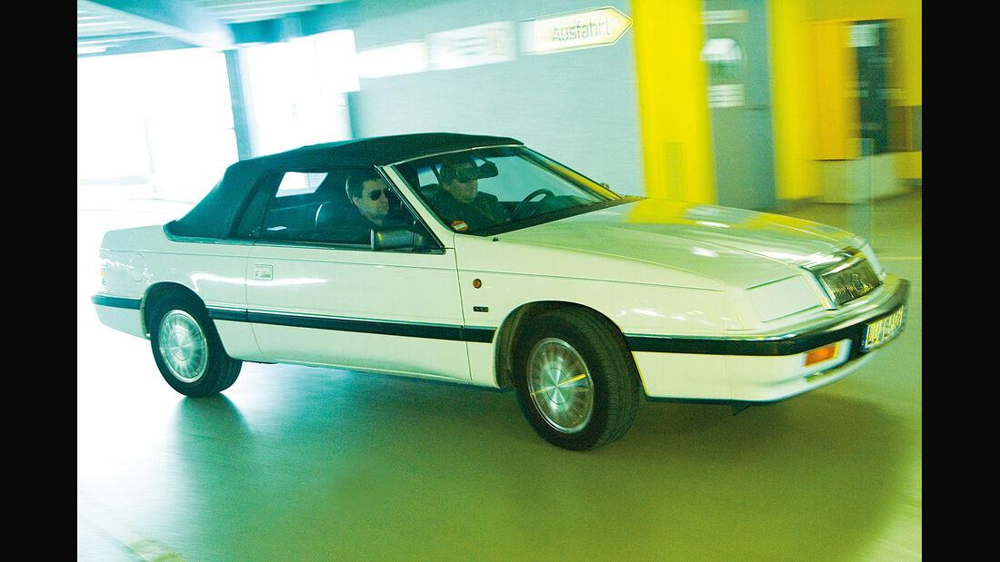 Chrysler LeBaron, Seitenansicht
