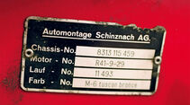 Chrysler New Yorker Montageschild