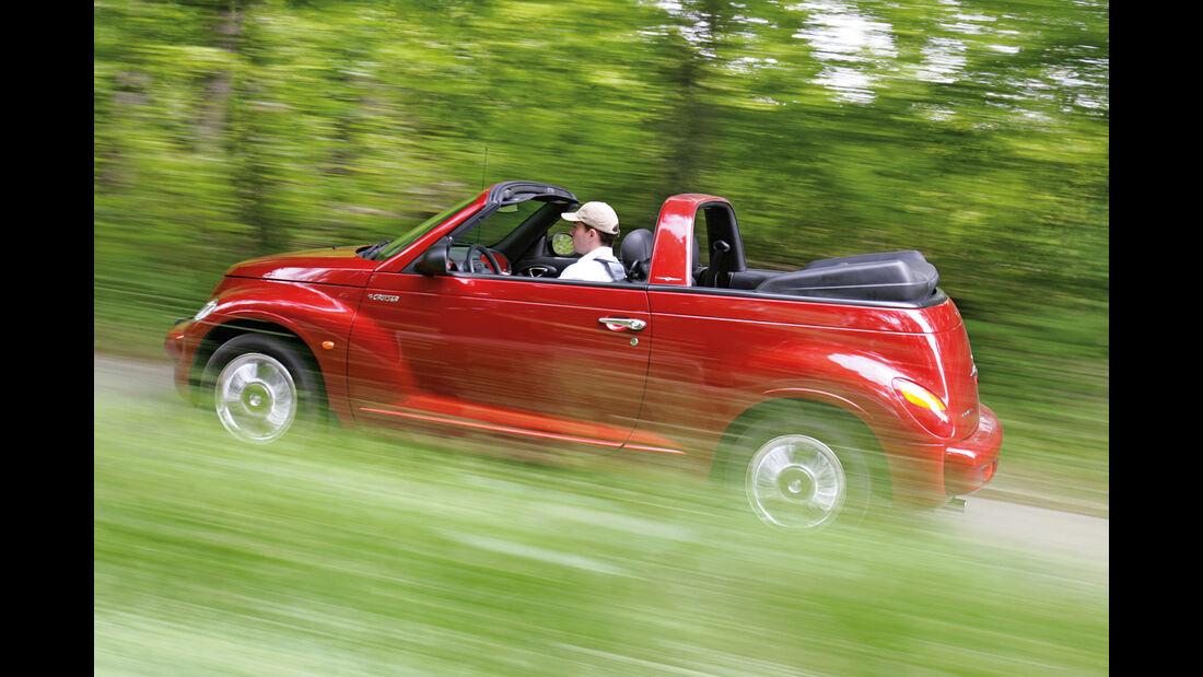 Chrysler PT Cruiser Cabrio, Seitenansicht