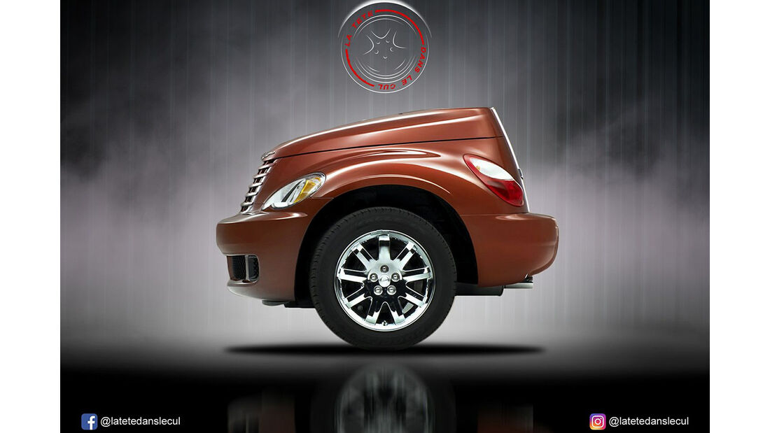 Chrysler PT Cruiser Retusche