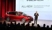 Chrysler Pacifica, Van, Detroit Auto Show, NAIAS 2016, 01/2016