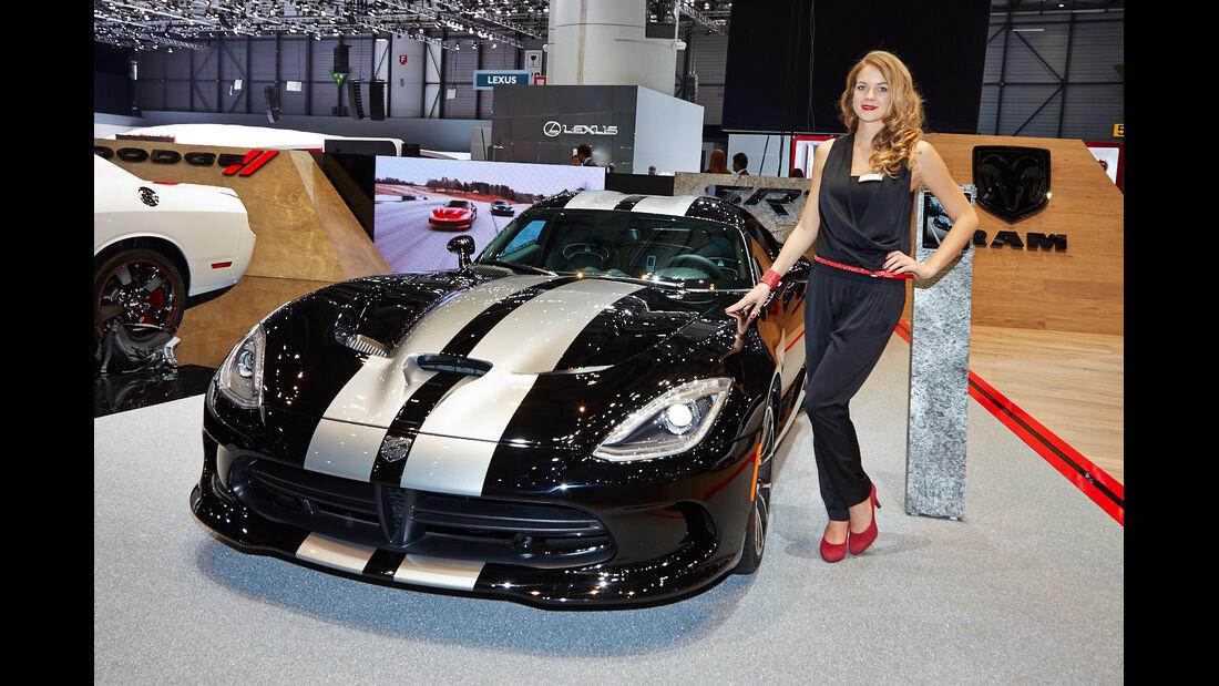 Chrysler SRT Viper, Genfer Autosalon, Messe 2014