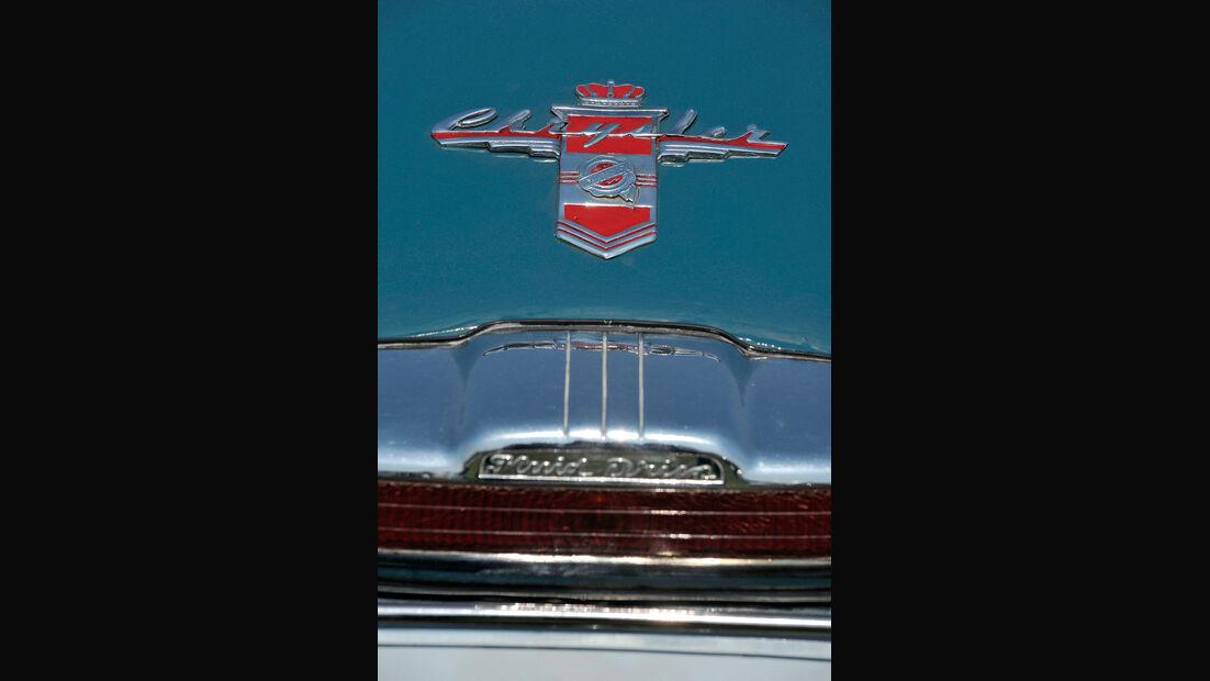 Chrysler, Typenbezeichnung, Detail, Oldtimer