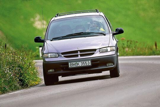 Chrysler Voyager, Frontansicht