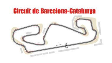 Circuit de Barcelona-Catalunya - GP Spanien - Formel 1
