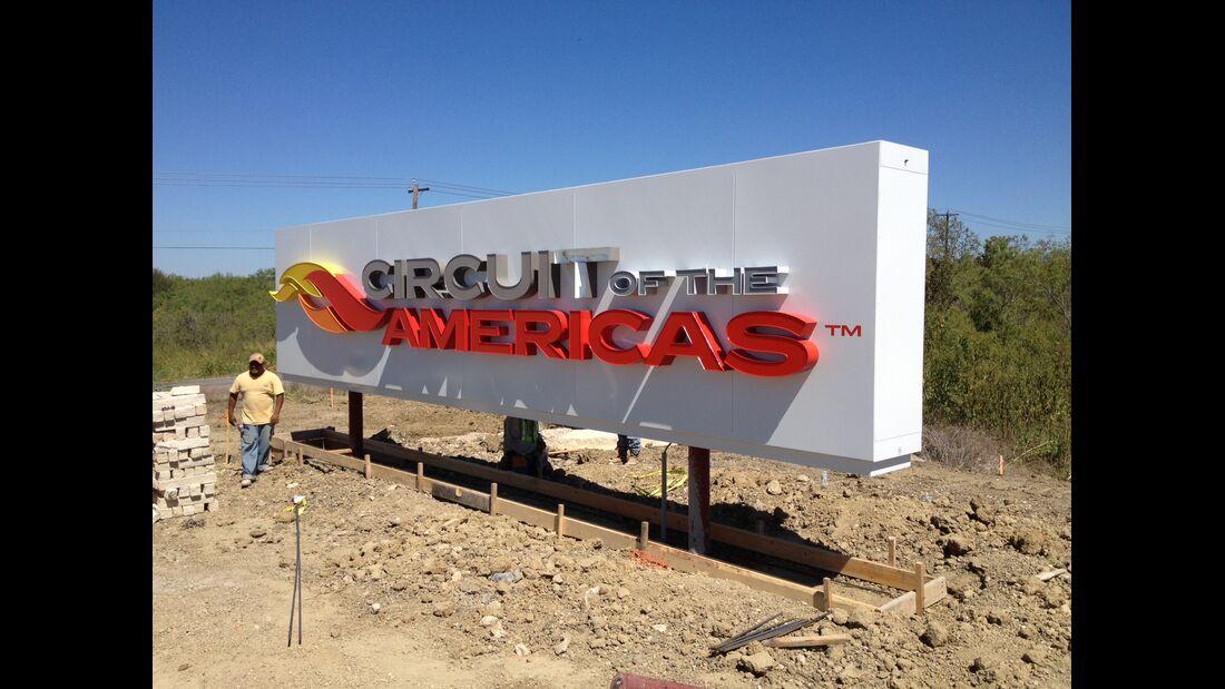 Circuit of the Americas Austin GP USA 2012