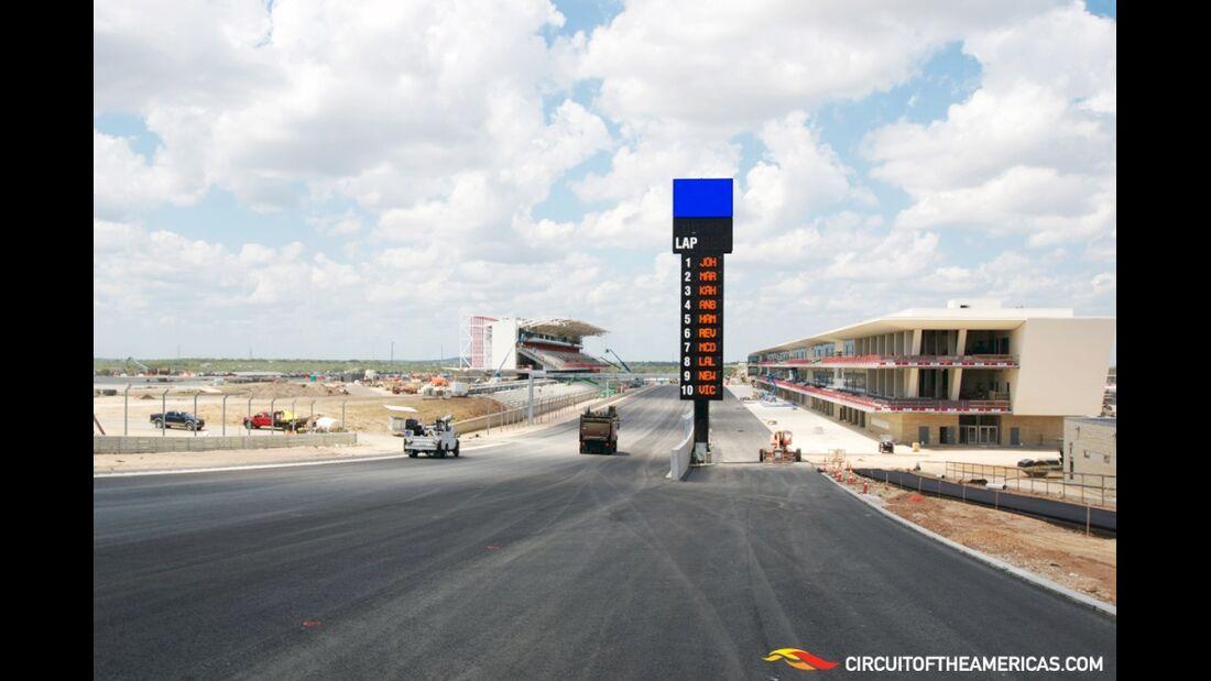 Circuit of the Americas GP USA 2012