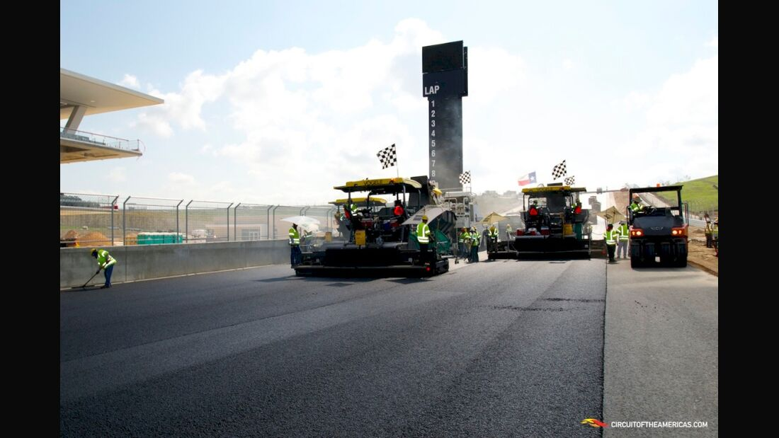 Circuit of the Americas GP USA 2012