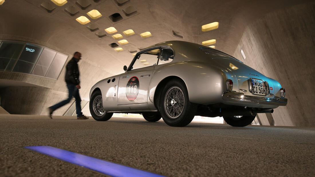 Cisitalia 202 Gran Sport, Heckansicht