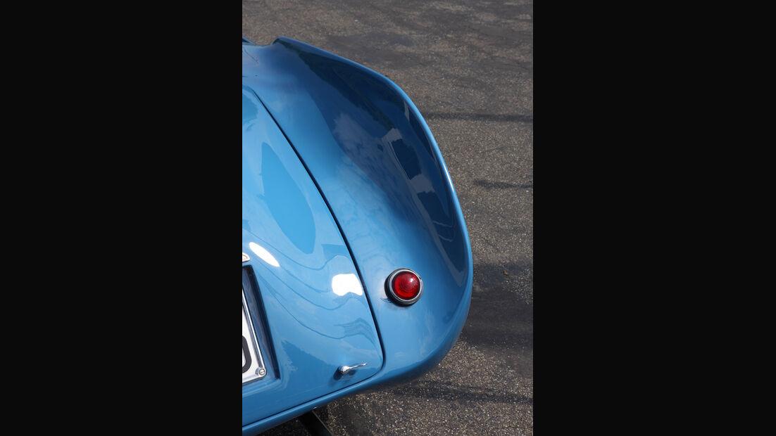 Cisitalia 202 SMM Nuvolari Spider, Kotflügel hinten