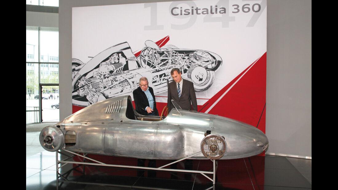 Cisitalia Grand Prix-Monoposto Karosserie