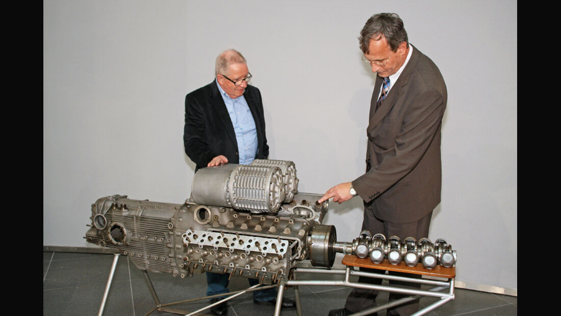 Cisitalia Grand Prix-Monoposto Motor