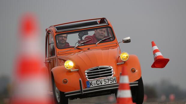 Citroën 2CV 6, Exterieur