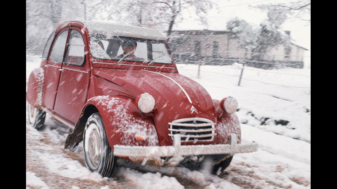 Citroën 2CV, Frontansicht